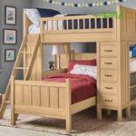 سرویس خواب طرح چوب دو طبقه کودک