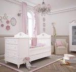 سرویس خواب سفید نوزاد و کودک