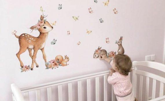 دیوارپوش اتاق کودک و بچگانه