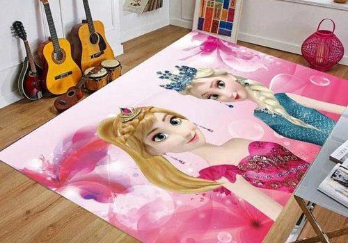 فرش اتاق دخترانه