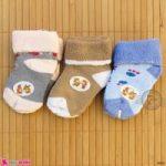 جوراب بچه پشمی